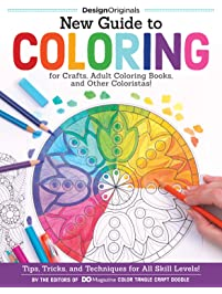 New Guide To Coloring For Crafts Adult Books And Other Coloristas