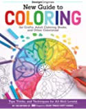 New Guide to Coloring for Crafts, Adult Coloring Books, and Other Colourists!