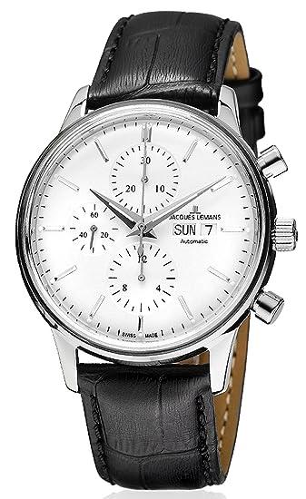 02c876bc81f Jacques Lemans Orologio da uomo con cronografo