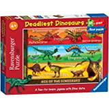 Ravensburger Deadliest Dinosaurs, 60pc Giant Floor Jigsaw Puzzle