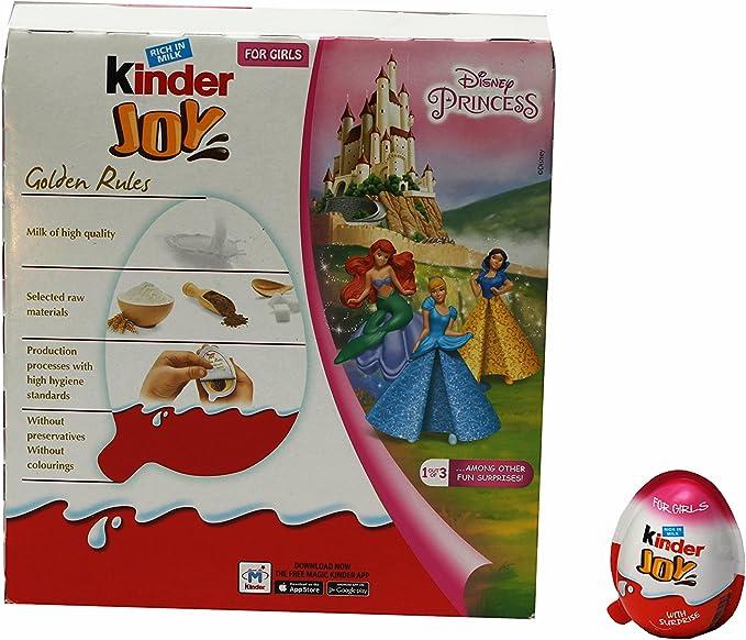Ferrero Kinder Joy 20g (pack of 24): Amazon.es: Electrónica