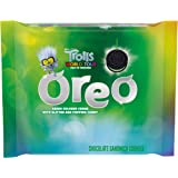 OREO Chocolate Sandwich Cookies, Green Colored Creme with Glitter & Popping Candy, Trolls World Tour Limited Edition, 1…