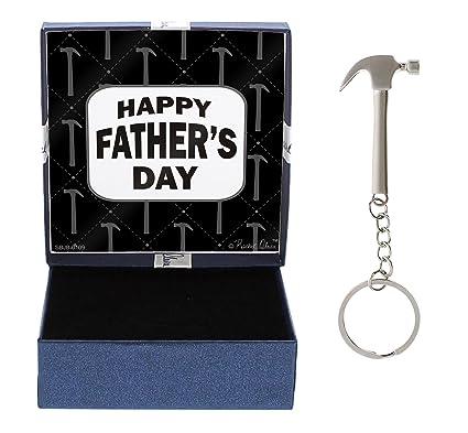 Amazon Dad Happy Ideas Hammer Keychain Gift Box Bundle