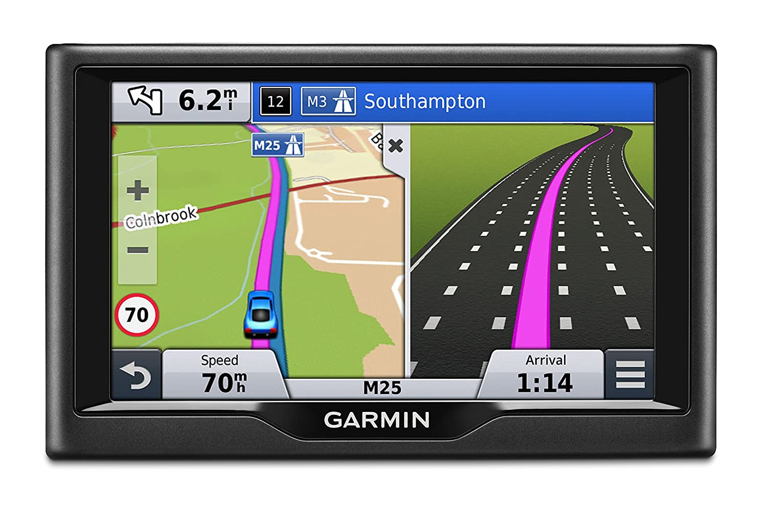 Garmin nuvi 58lmt 5 inch satellite navigation with uk ireland garmin nuvi 58lmt 5 inch satellite navigation with uk ireland full europe free lifetime maps and traffic black amazon electronics gumiabroncs Choice Image