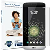 G5 Screen Protector, Tech Armor 3D Curved Edge Glass LG G5 Screen Protector (Blk) [1-Pack]
