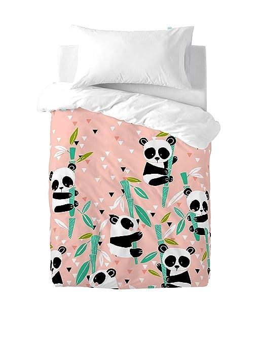 moshi moshi copripiumino  Moshi Moshi Nordico: Panda Garden, copripiumino 90, 155 x 220 cm, 2 ...