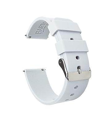 les ventes en gros chaussures de course le plus en vogue Barton Watch Bands Silicone Bracelet De Montre Libération Rapide -  Choisissez La Couleur Et La Largeur