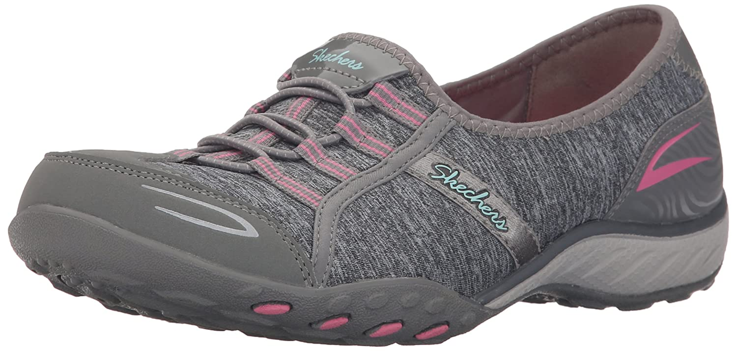 Skechers Sport Women's Good Life Fashion Sneaker B01BBXCPUM 9.5 B(M) US|Gray/Pink