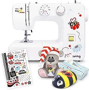 Máquina de coser Kullaloo bitsyBEE de Janome, incluye 3 accesorios ...