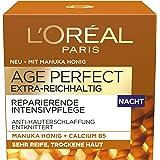 L'Oréal Paris  巴黎欧莱雅 Age Perfect 系列晚霜 富含麦卢卡 1 件装(1 × 50 毫升)