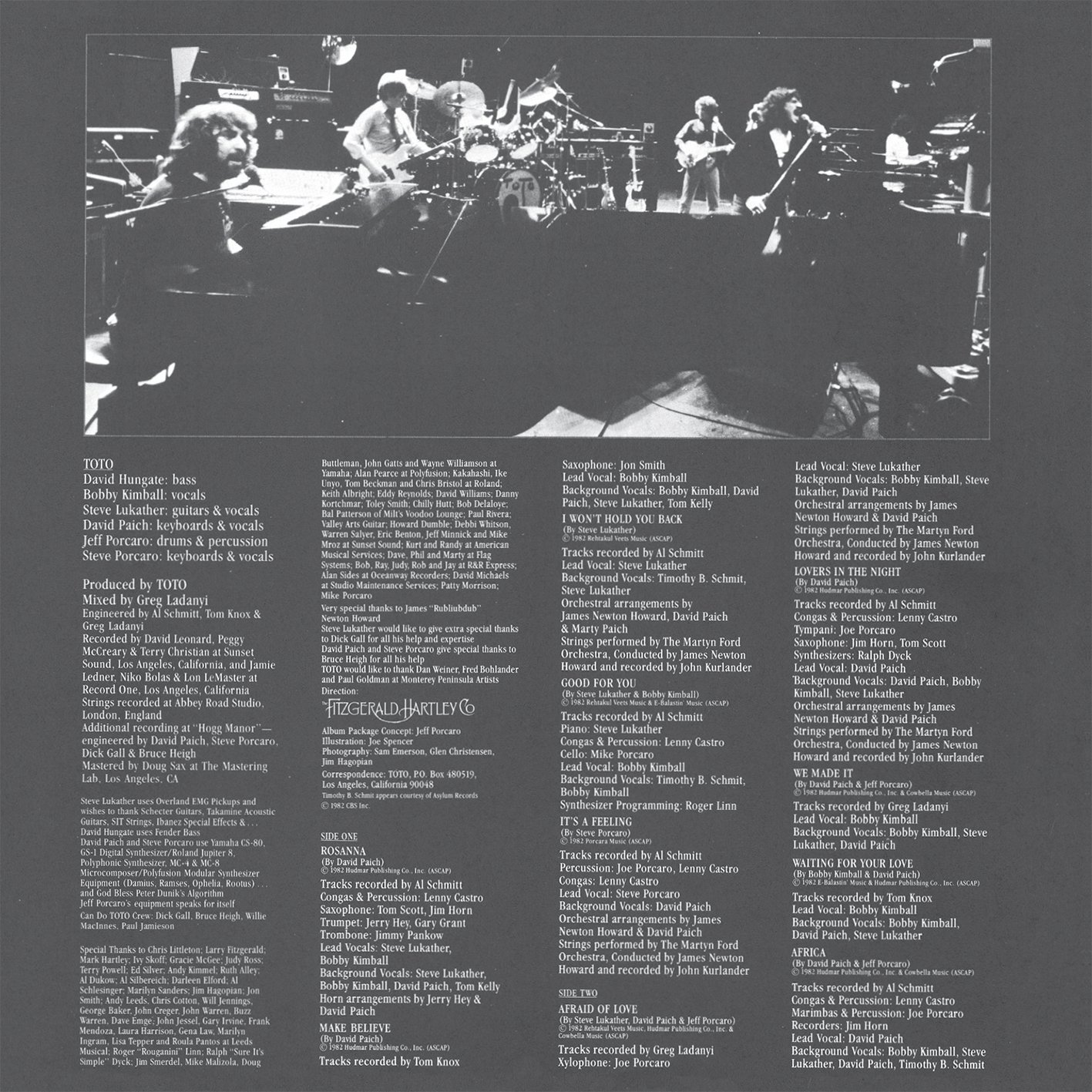 Toto IV (Deluxe vinyl replica) by Toto: Amazon.co.uk: Music