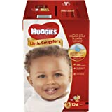Huggies Little Snugglers Baby Diapers, Size 5, 124 Count (Packaging May Vary) (One Month Supply)