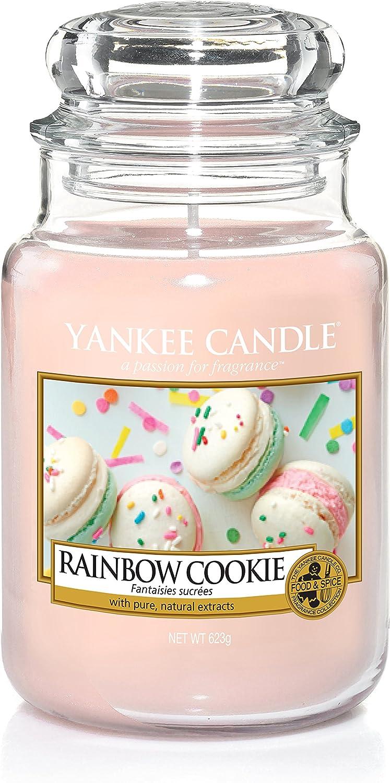 Yankee Candle bougie jarre /«/Fantaisies sucr/ées//» 10,7 x 10,7 x 16,8 cm rose