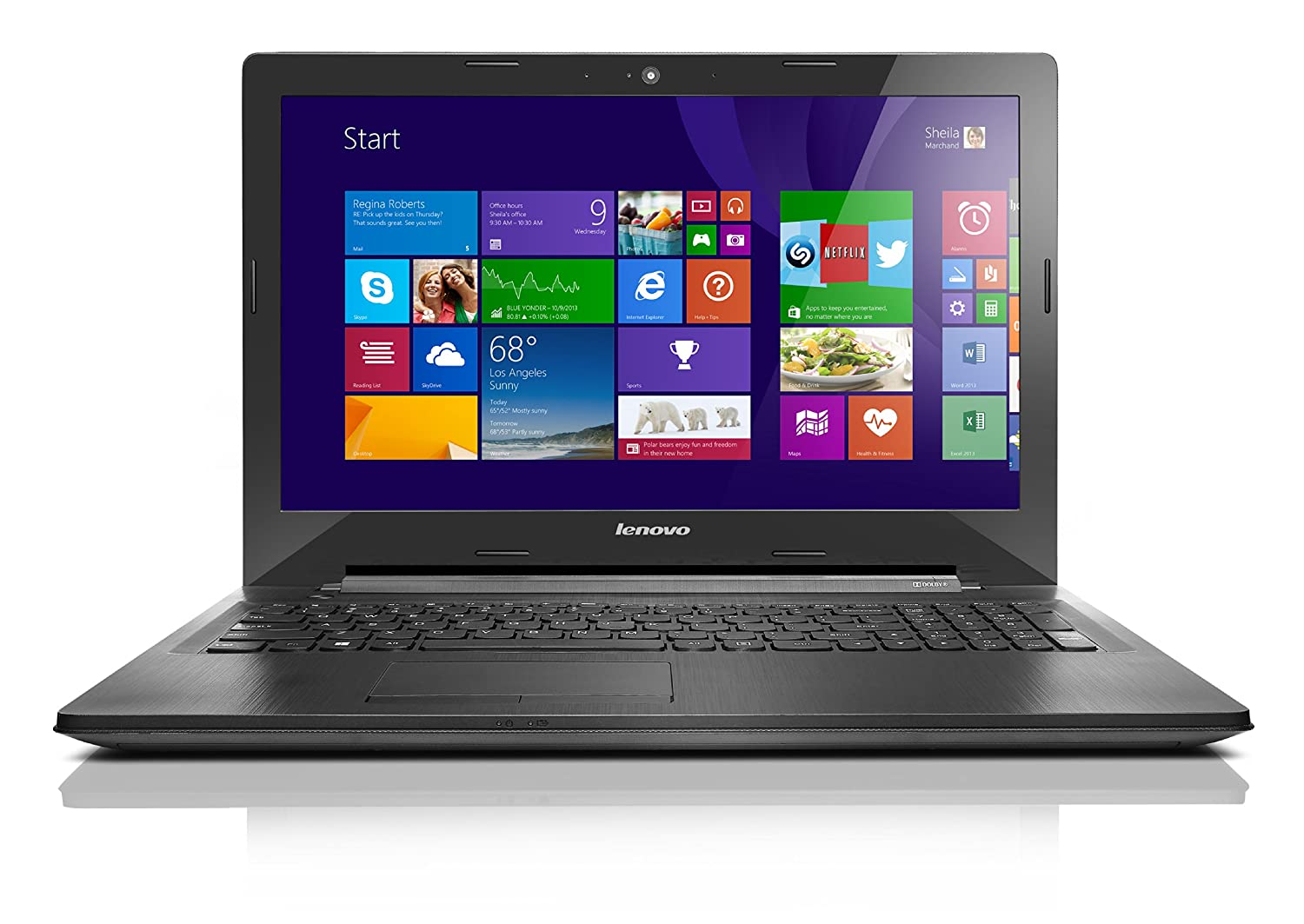 Lenovo G50 80E3005NUS Laptop (Windows 8, AMD A8-6410, 15 6