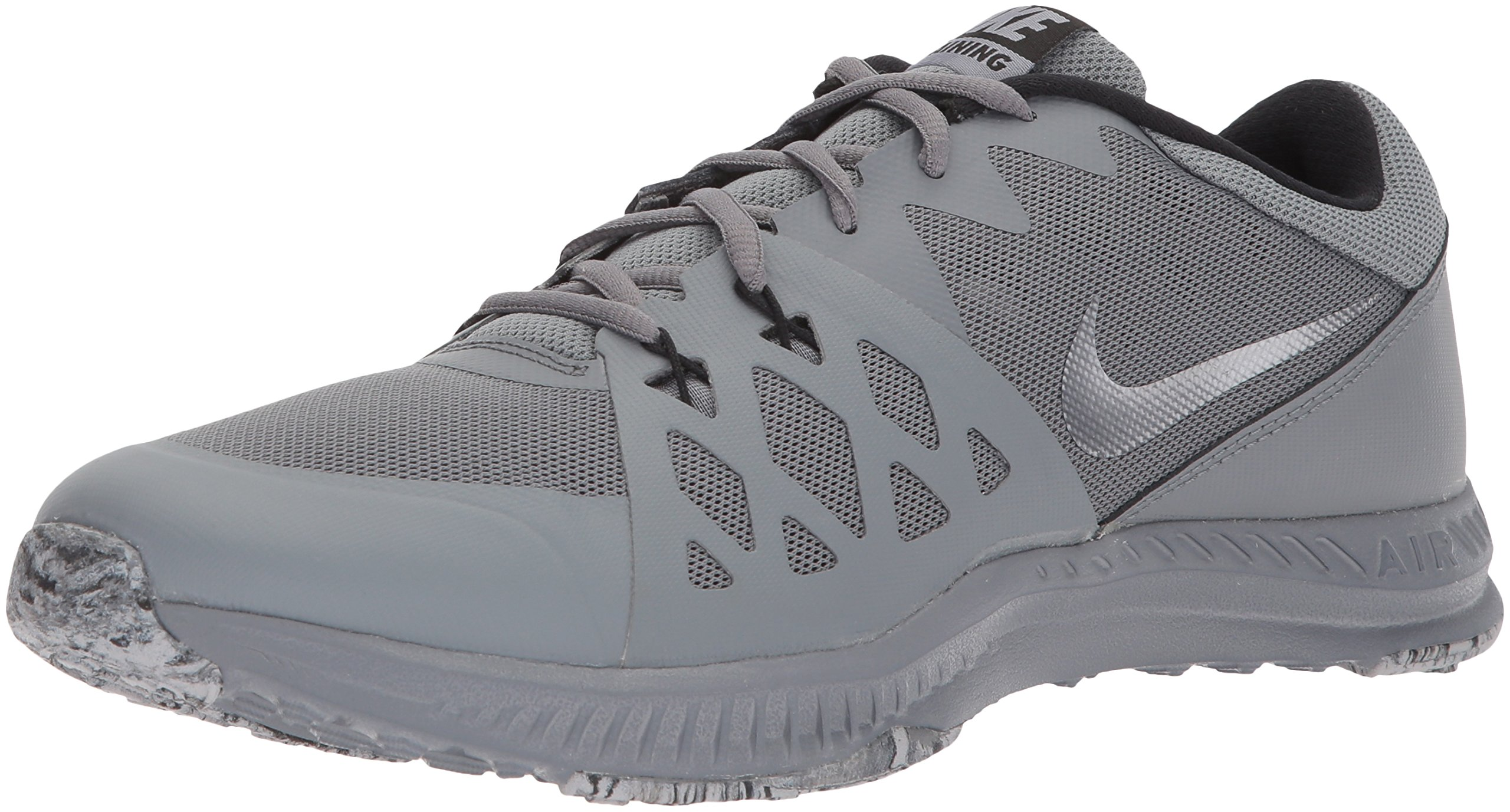 Conception innovante e4fc0 7178d Nike Men's Air Epic TR II Cross Trainer, Cool Grey/Black/Speed Red, 13 D(M)  US