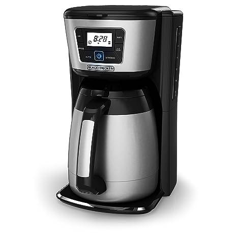 Amazon.com: BLACK+DECKER - Cafetera térmica de 12 tazas ...