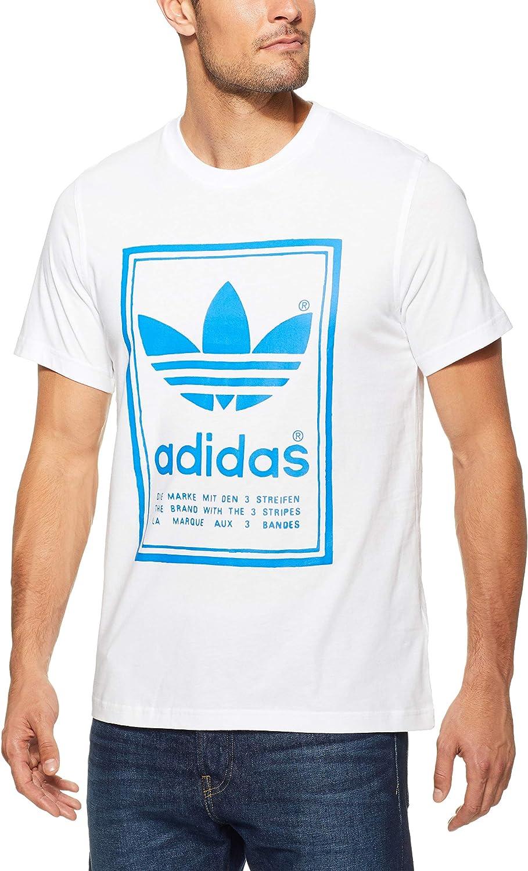 adidas Vintage Camiseta, Hombre