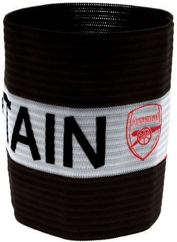 Arsenal FC Official - Brazalete con escudo del equipo para capitán