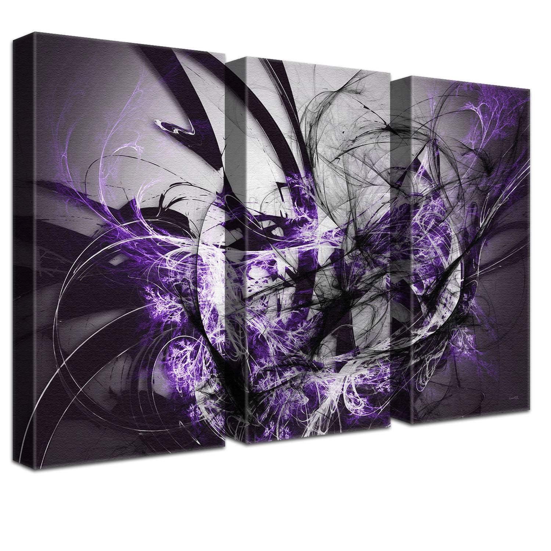 LANA LANA LANA KK Luxus Ausführung Grow SW  Abstraktes Design auf 4 cm Echtholz, Bunt, 100 x 70 cm B074SVP953   Innovation  797a48