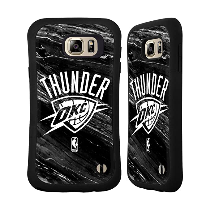 new arrival 5d3b3 6e639 Official NBA B&W Marble Oklahoma City Thunder Hybrid Case Samsung Galaxy  Note5 / Note 5