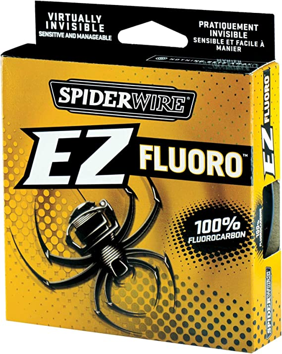 Spiderwire EZ Fluoro Fishing Line 6 Lb 200 yard lightweight Invisible to Fish