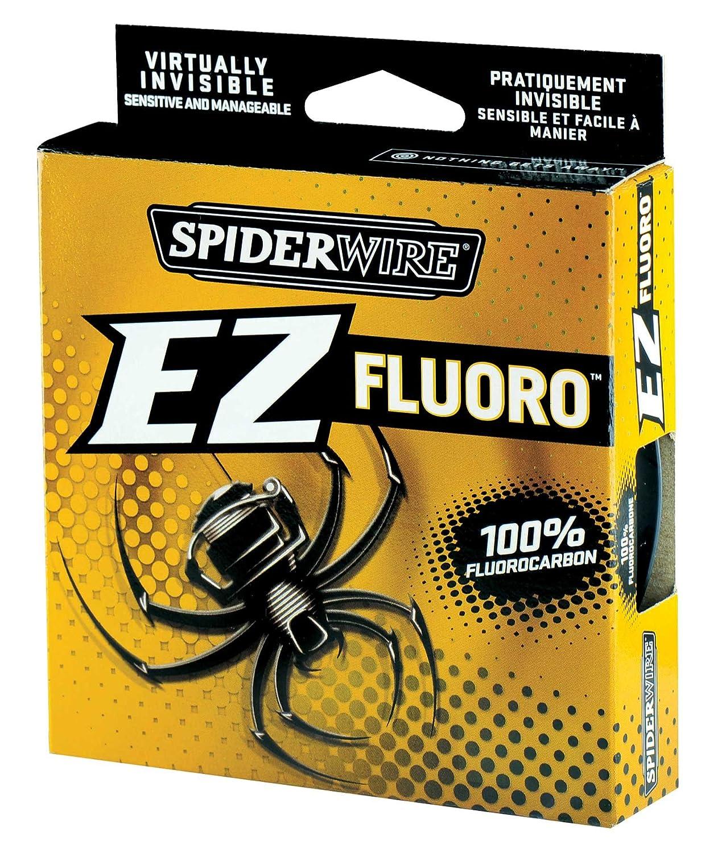 Spiderwire EZ FluoroTM, 4lb 1.8kg, 200yd 182m Fluorocarbon – 4lb 1.8kg – 200yd 182m