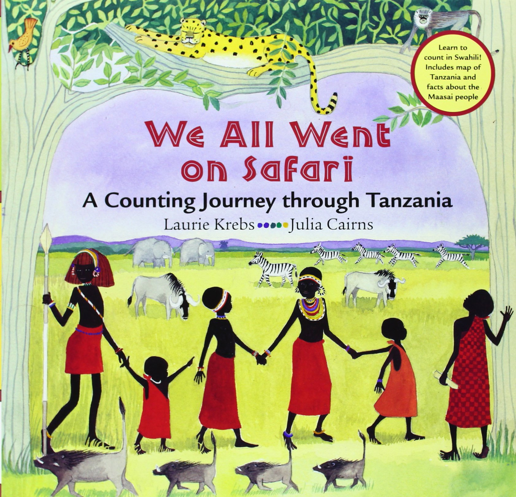 We All Went on Safari:  A Counting Journey Through Tanzania