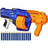Hasbro E0011EU4 – N-Strike Elite Surgefire leksaksblaster, med trummagasin, 1 set, blå