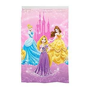 "Disney Princess Kids Room Darkening Window Curtain Panel, 42"" x 63"", Pink"