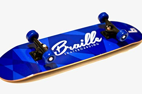 Braille Skateboarding Aaron Kyro 11inch Professional Hand Board Toy Skateboard Comes With Wheels Trucks
