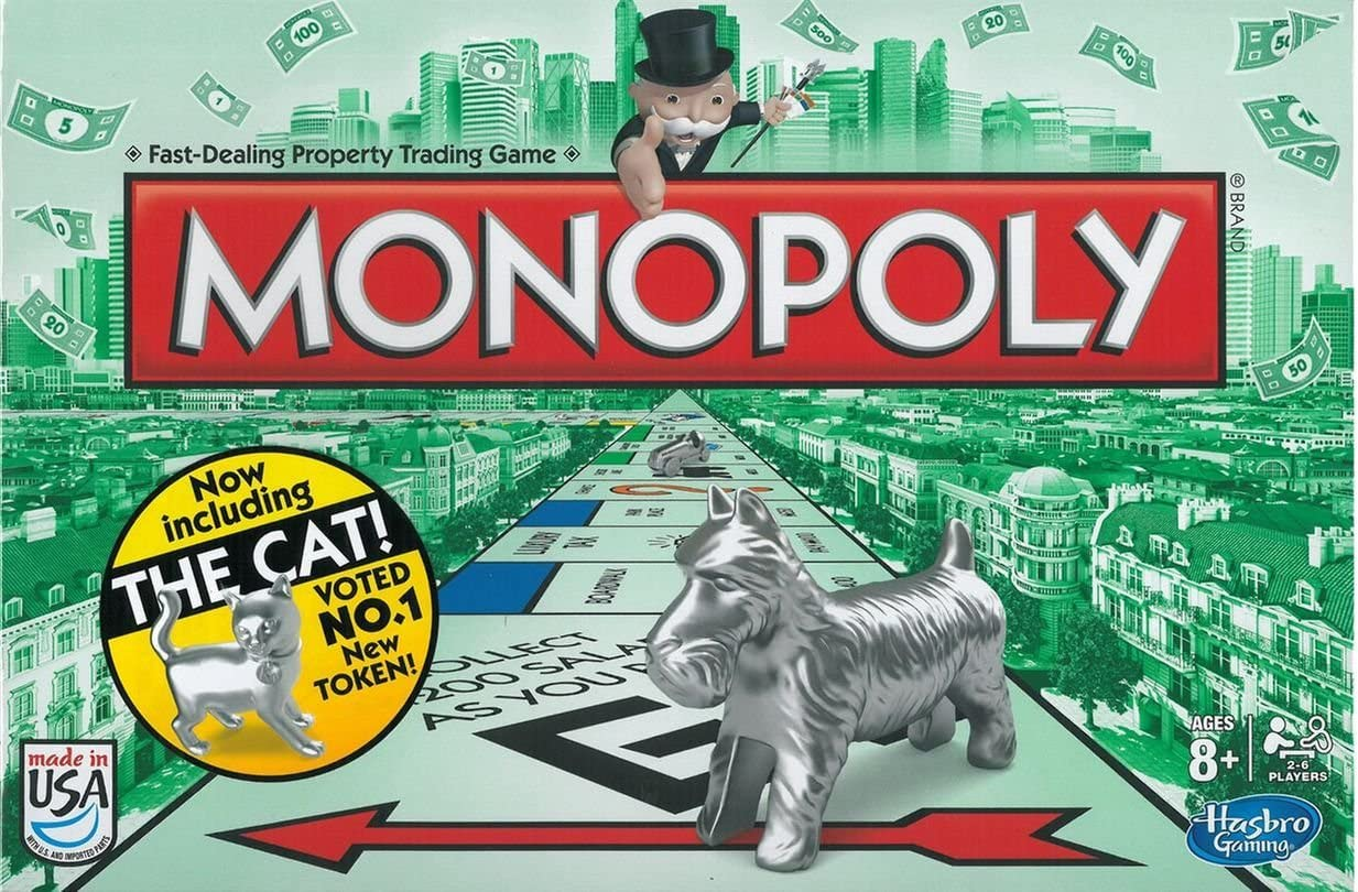 Hasbro Monopolio Juego: Amazon.es: Juguetes y juegos