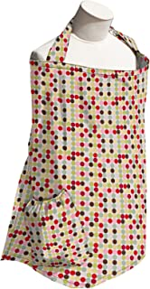product image for Planet Wise Baby Nursing Cover for Breastfeeding, Mod Dot