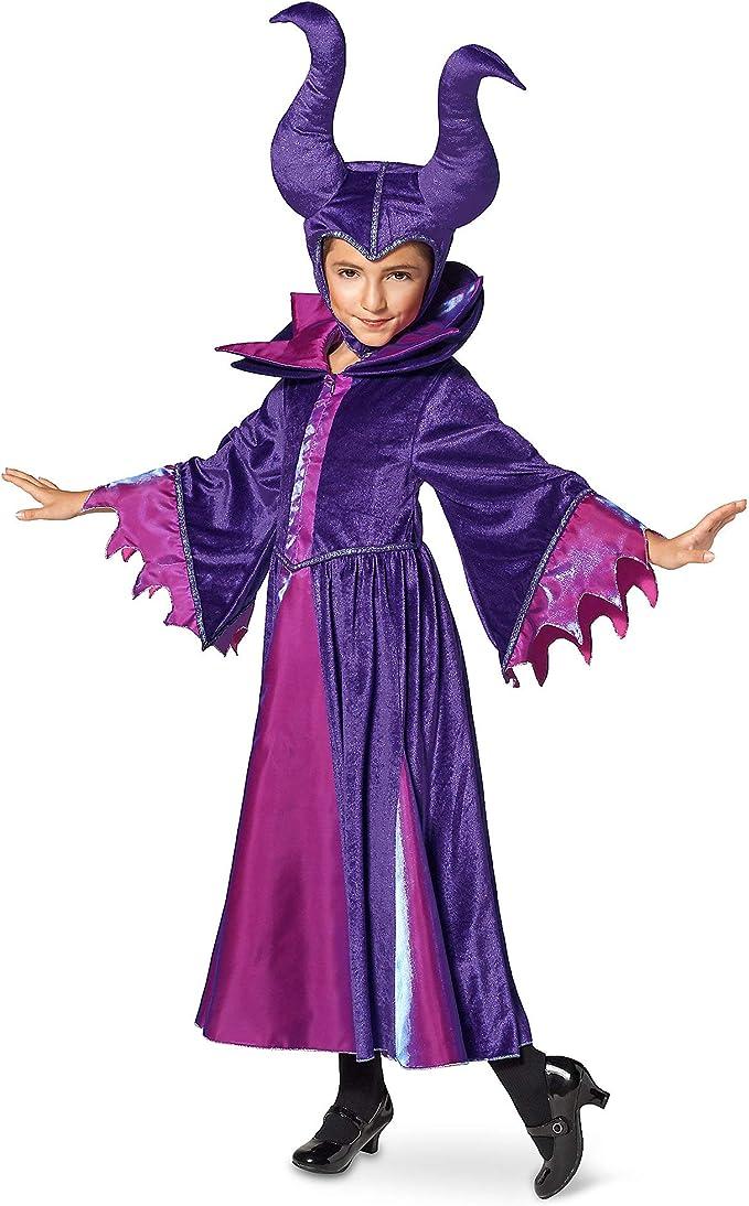 Disney Disfraz de Maléfica niños, Multicolor, 5/6: Amazon.es: Ropa ...