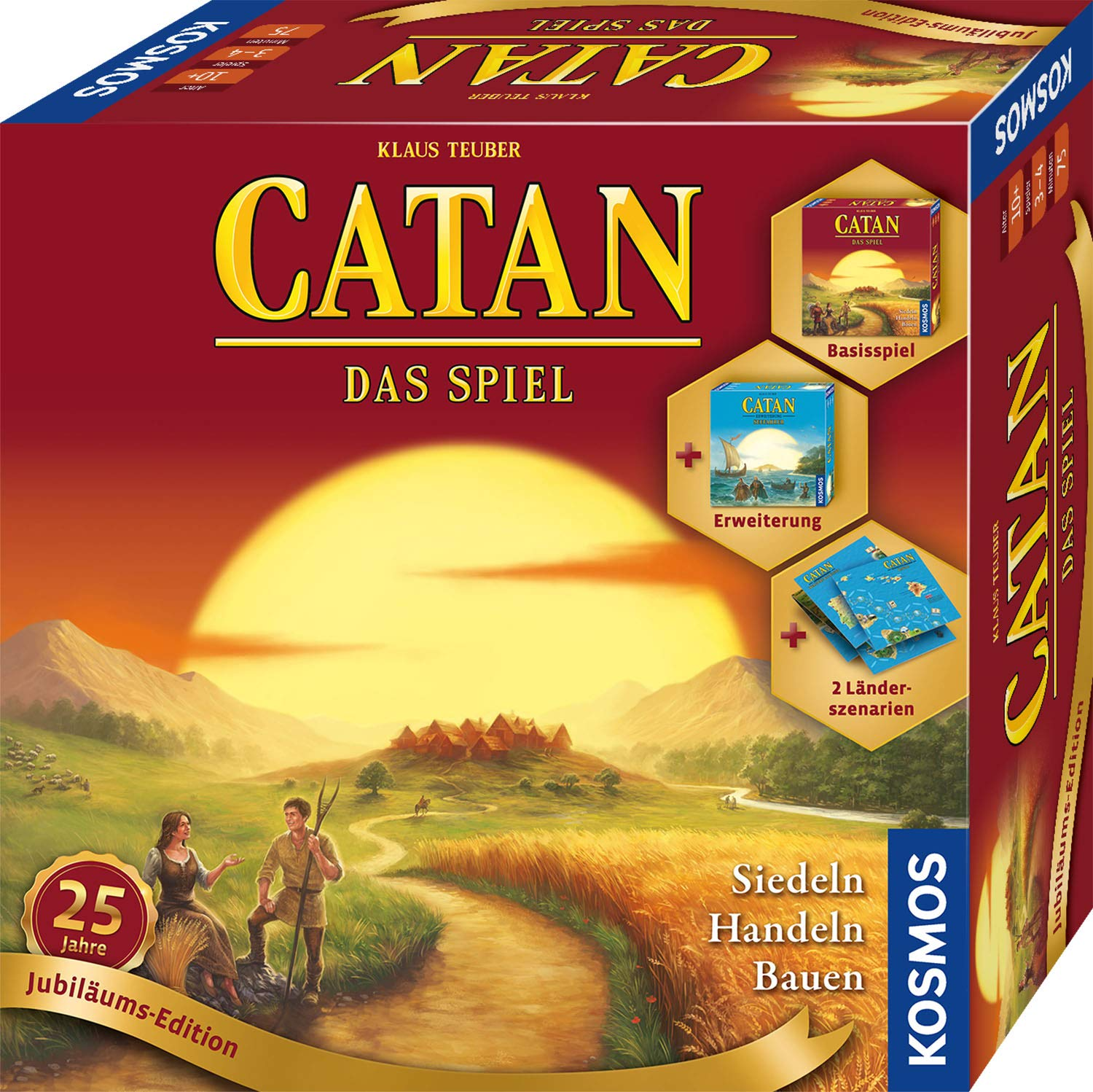 Catan - Jubiläums-Edition 2020: das spiel: Amazon.es: Libros en idiomas extranjeros