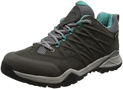 The North Face Damen W HH Hike Ii GTX Trekking-& Wanderhalbschuhe, Braun (Bone Brown/Wildasterpurple 4Ns), 36.5 EU