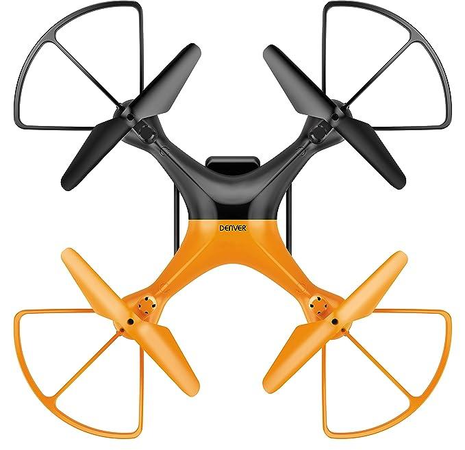Denver Drone con Cámara HD, Color Naranja w x 27.00(d) x 11.00(h ...