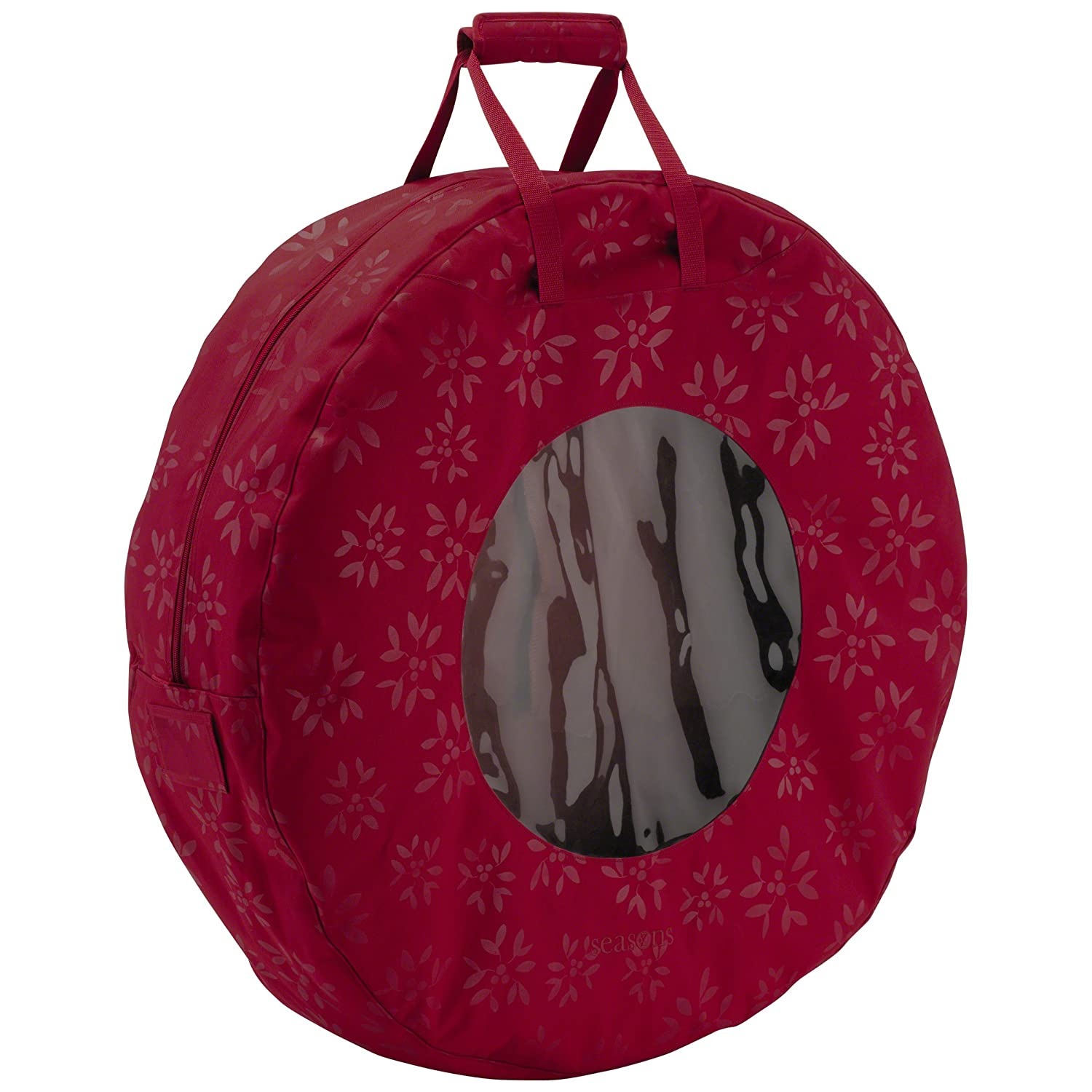 Classic Accessories Seasons Holiday Wreath Storage Bag, Medium 57-001-034301-00