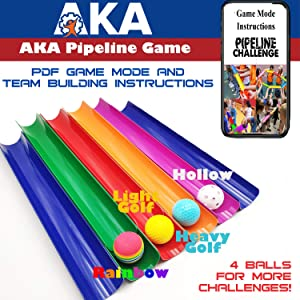 Pipeline Challenge -Team Building Party Game | ICE Breaker for Team Activity