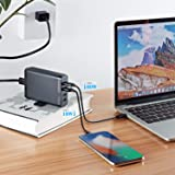 Runpower USB C Wall Charger,4-Port with 60W
