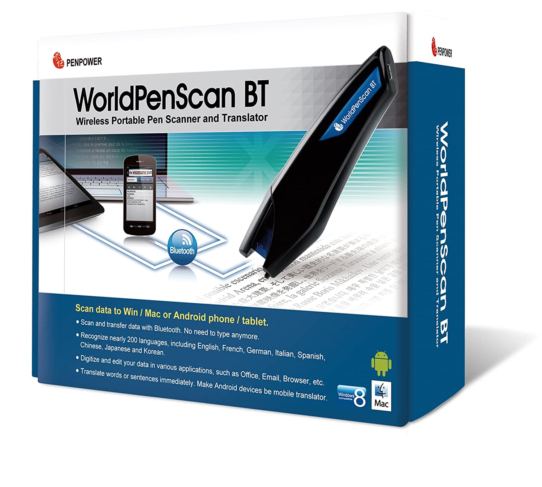 Wireless Portable Bluetooth-Pen-Scanner und /Übersetzer Penpower WorldPenScan BT