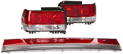 Spec D Tuning LT COR93RPW3 TM Chrome Tail Light (Altezza)