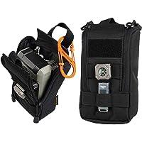 Viperade - Funda táctica para radio y teléfono GPS, multiusos, compacta, bolsa de cintura EDC