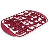 Mrs. Fields Christmas Cookie Cutter Grid with Candy Cane, Chritmas Tree, and Gingerbread Man Pattern (132)