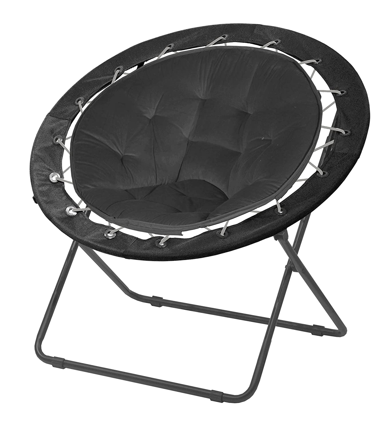 Fabulous Urban Shop Bungee Saucer Chair Navy Forskolin Free Trial Chair Design Images Forskolin Free Trialorg