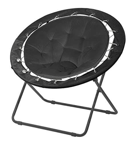 Urban Shop Bungee Saucer Chair, 30u0026quot;, ...