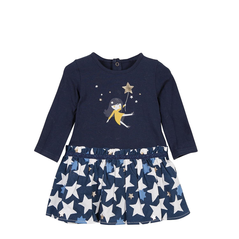 Catimini Baby Girls' Robe Bi-Matiere Party Dress CK30041