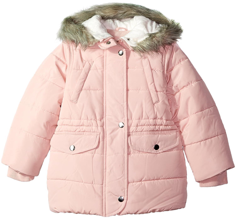 Carters Girls Little Cozy Hood Puffy Jacket Coat