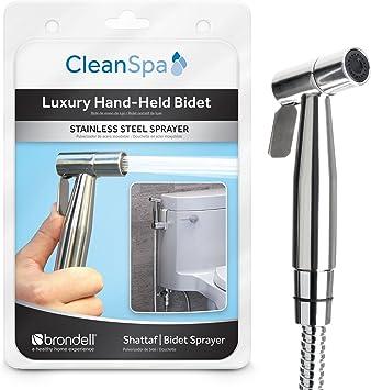 Brondell Csl 40 Cleanspa Luxury Hand Held Bidet Shattaf Sprayer Silver Bidet Attachments Amazon Canada