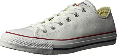 Converse Homme Chaussures en Cuir CT All Star Ox, Blanc, 43 ...
