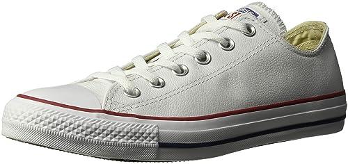 Converse Chuck Taylor Core Lea Ox 246270-55-3 - Zapatillas para mujer, Blanc, 36: Amazon.es: Zapatos y complementos